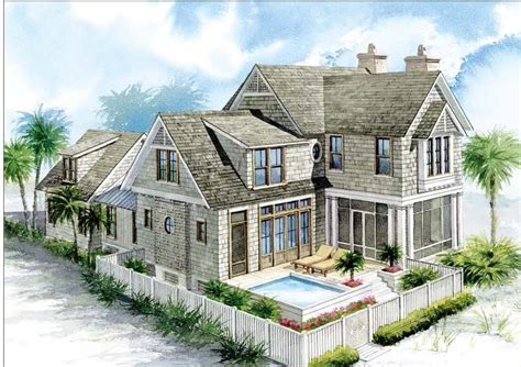 nantucket style houses with inverted floor plan