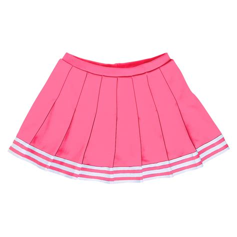 stock pleated cheer skirt