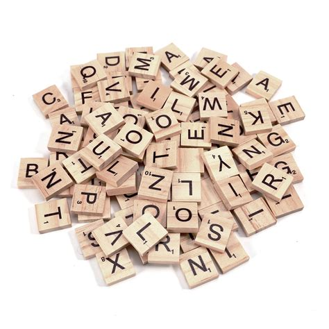 amount of letters in scrabble wooden scrabble tiles for crafts uk
