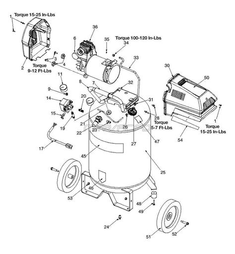 Sears Craftsman 919 167311 Air Compressor Parts