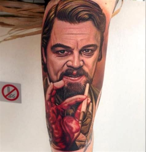 leonardo dicaprio tattoos 174 best portrait magic images on amazing