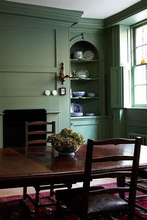 Green Dining Room Wall 25 Best Ideas About Dining Room Paneling On