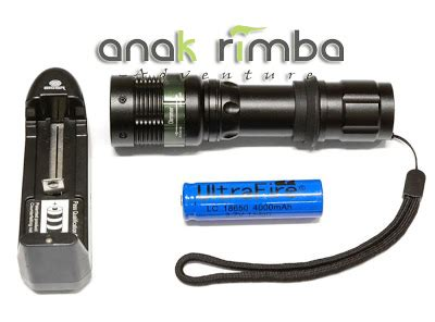 Senter Eiger anakrimba adventure handl senter tangan eiger torch