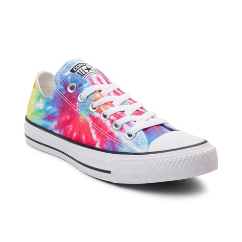 converse shoes converse chuck all lo tie dye sneaker multi