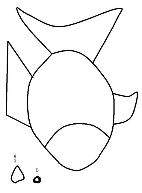 rainbow fish colouring template rainbow outline to color clipart best