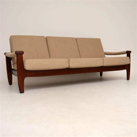 retro danish sofa danish retro sofa vintage 1960s at 1stdibs