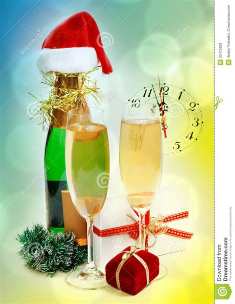 new year composition new year composition royalty free stock images image
