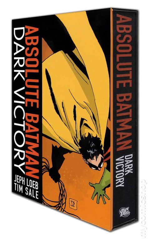 batman victory new edition batman victory hc 2012 absolute edition comic books