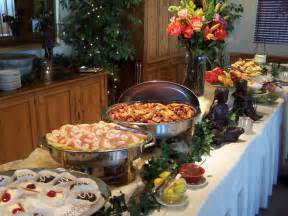 Table Dinner Buffet Hours Setting Buffet Table Ideas Indelink