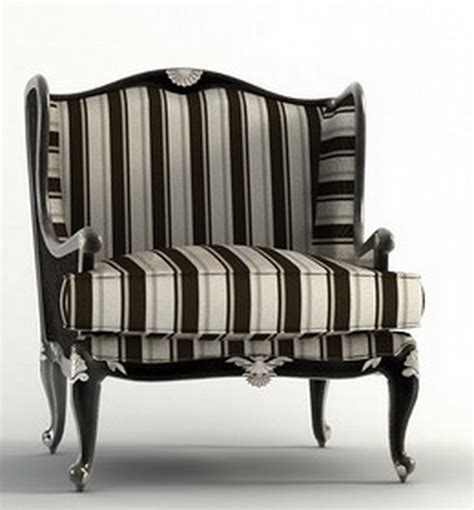 barbara barry armchair armchair with shaped back and decors in silver barbara