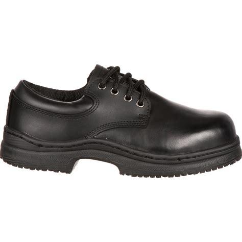 slipgrips s steel toe slip resistant work shoes 532