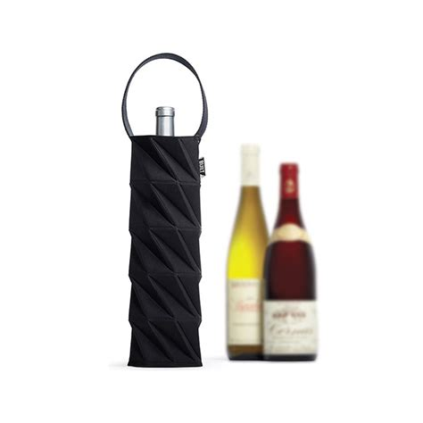 Origami Wine Bottle - origami wine tote so that s cool