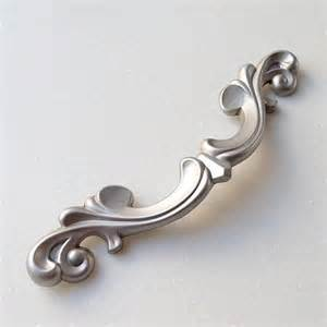 drawer pulls handles antique silver shabby dresser drawer