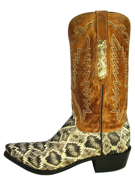 rattlesnake boots 1000 images about snake skin boots on