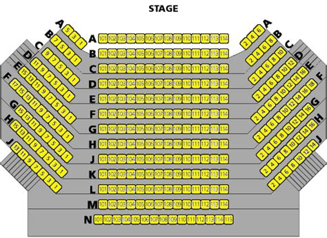 gramercy theater seating capacity pin stage seating map capacity 12500 end ga pit on