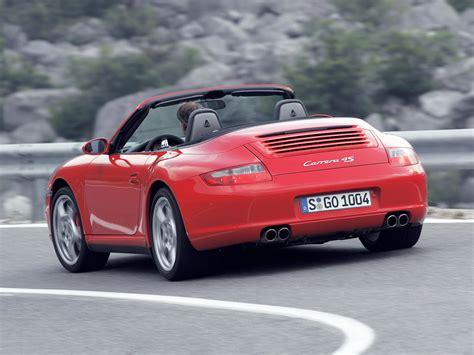 porsche 911 997 4s porsche 911 4s cabriolet 997 specs 2005 2006