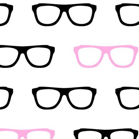 girly nerd wallpaper geek glasses seamless pattern background labs