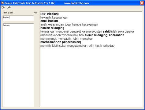 Kamus Bahasa Batak Toba Indonesia Indonesia Batak Toba kamus bahasa batak toba sirait margaku