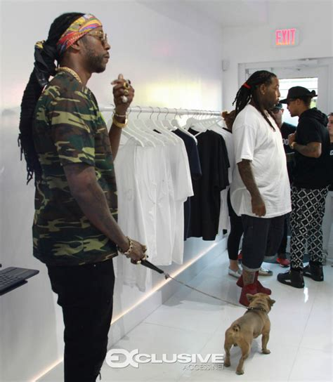 2 chainz trappy 2 chainz host pop up shop at appointments only showroom
