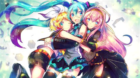 wallpaper anime vocaloid anime anime girls vocaloid kagamine rin hatsune miku