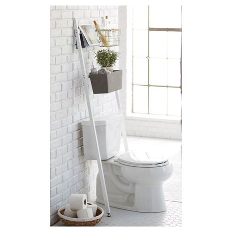 over the toilet ladder 25 best ideas about over toilet storage on pinterest