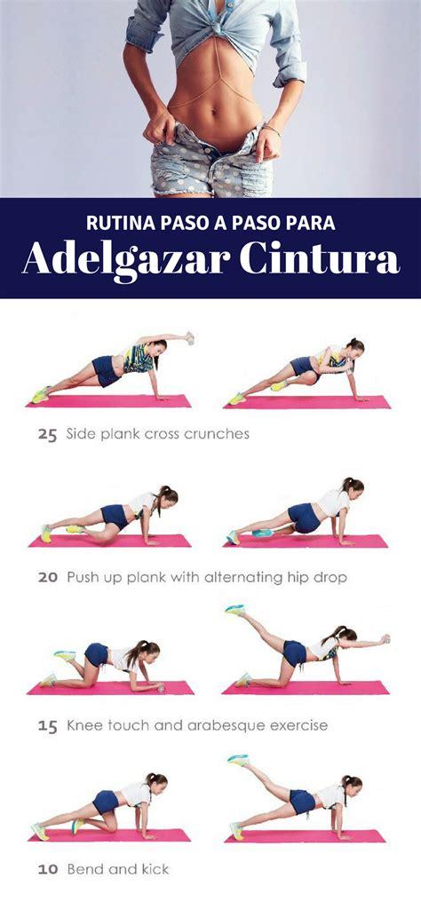 plan de ejercicios para adelgazar en casa 10 maravillosos ejercicios para la cintura ejercicio en