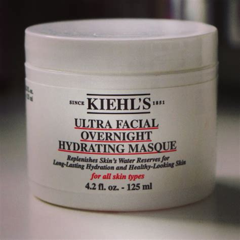 Masker Kiehl S kiehls ultra overnight masque review