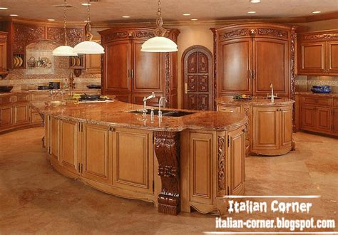 Luxury Cabinets Kitchen Luxury Italian Kitchen Designs With Wooden Cabinets Furniture