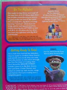 Sesame street getting ready to read vhs ebay do the alphabet getting