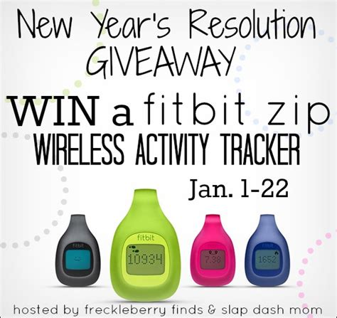 My New Years Resolutions Bag Giveaway by New Year S Resolution Giveaway Win A Fitbit Zip