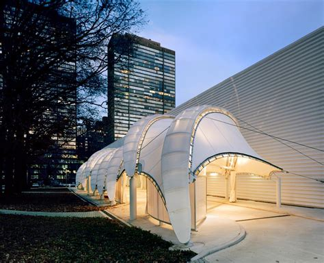 Awnings Nyc Teflon Coated Fiberglass Fabric Architecture Fabric