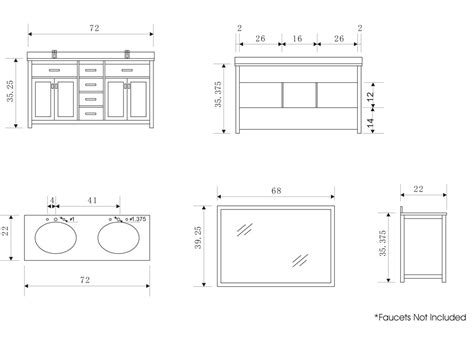 standard kitchen sink cabinet size ideas standard bathroom sink cabinet sizes is the standard