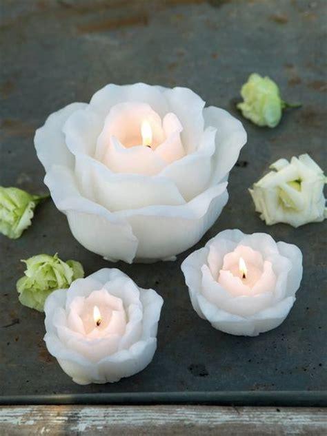 candele rosa white candles