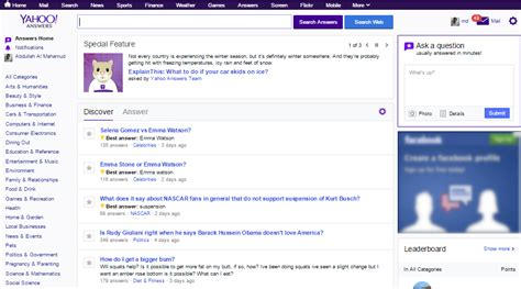 s day yahoo answers best place to ask a question to get an answer around the