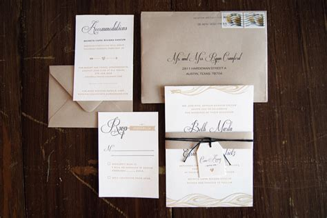 destination wedding invitations beth eric s quot come away with us quot destination wedding