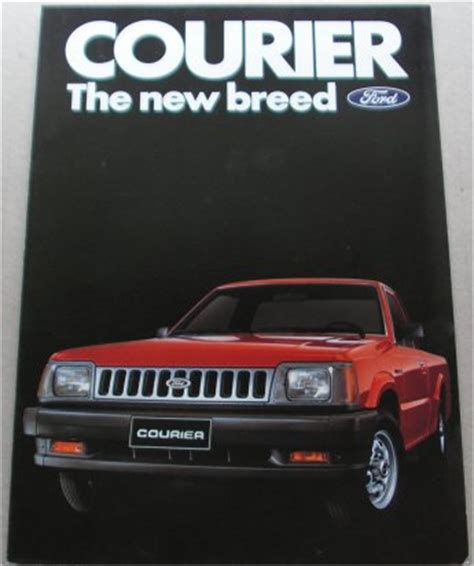 ford courier 1985 1986 factory repair manual ebay ford courier 1985 1986 usa sales brochure