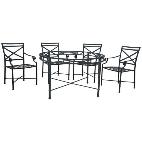 Dining Room Sets Jordans Brown Venetian Collection Patio Set At 1stdibs