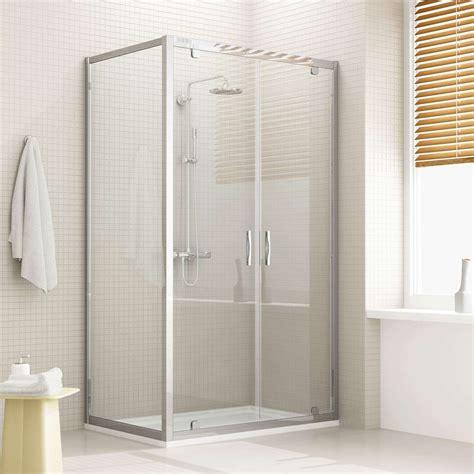 piatto doccia 90x110 box doccia doppia anta unica profilo alluminio h185 198