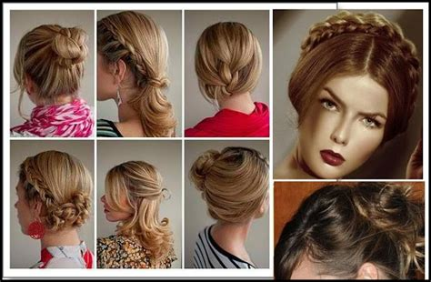 easy hairstyles casual party top 6 easy casual updos for long hair cute hairstyles