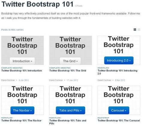 tutorial twitter bootstrap indonesia the best free bootstrap tutorials