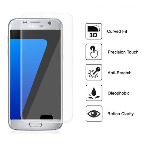 Tempered Glass Kingkong Samsung Galaxy S7 Flat Antigores Screen Guard clear 3d tempered glass screen protector samsung galaxy s7 edge