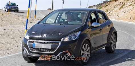 peugeot 1008 used pumped up peugeot crossover mule spied