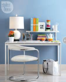 Small Desk Space Organizing Ideas Small Space Organizing The Home Office Style At Home