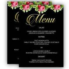 posh menu template 1000 images about printable menu templates on