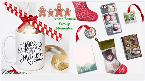 festive family mementos holiday gifts stocking stuffers