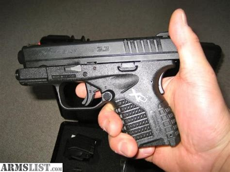 armslist  sale springfield armory xd  mm  compact    fired
