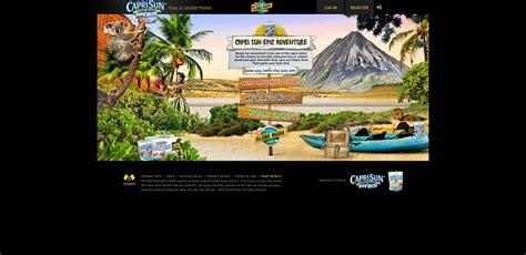 Capri Sun Sweepstakes - caprisun com kids capri sun epic adventure instant win game