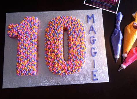 number cakes dessert ideas  single digit birthdays