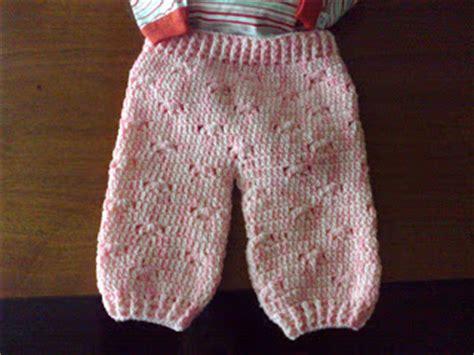 pantalones tejidos a palitos para recien nacidos pantal 243 n de crochet para beb 233 simple crochet