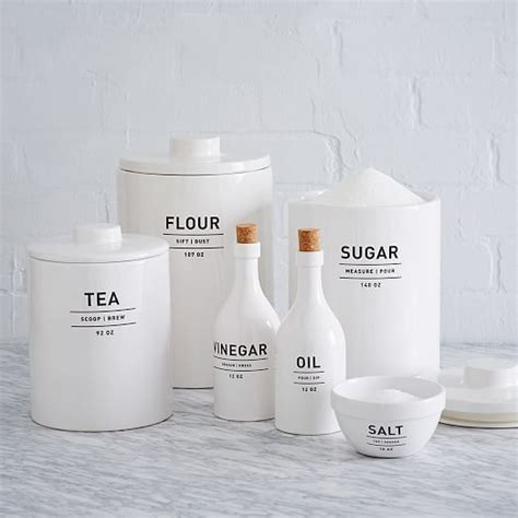 Ceramic Canisters For The Kitchen utility kitchen canisters white kitchen canisters
